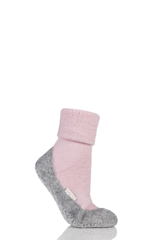 Ladies 1 Pair Falke CosyShoe Slipper House Socks