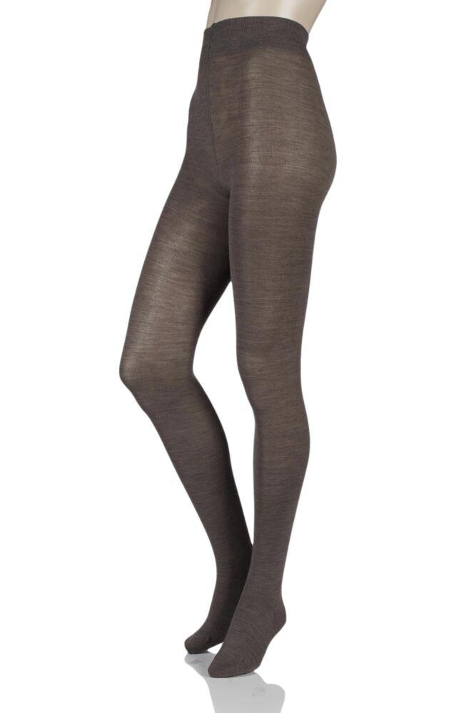 Ladies 1 Pair Falke Soft Merino Wool Tights