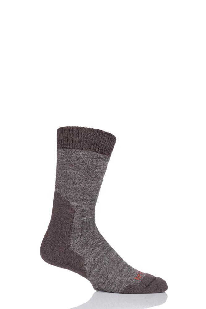 Mens 1 Pair Bridgedale Comfort Summit Socks For Comfort And Warmth