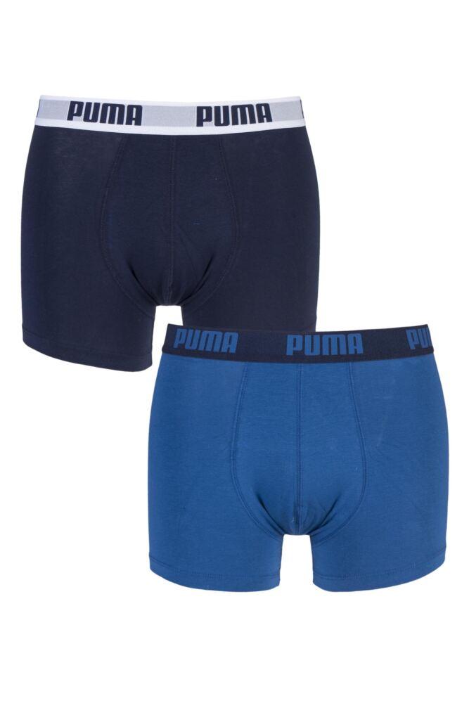 Mens 2 Pair Puma Basic Boxer Shorts 25% OFF This Style
