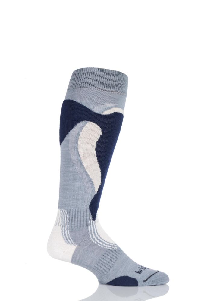 Mens 1 Pair Bridgedale Lightweight Control Fit Winter Sports Socks 25% OFF This Style