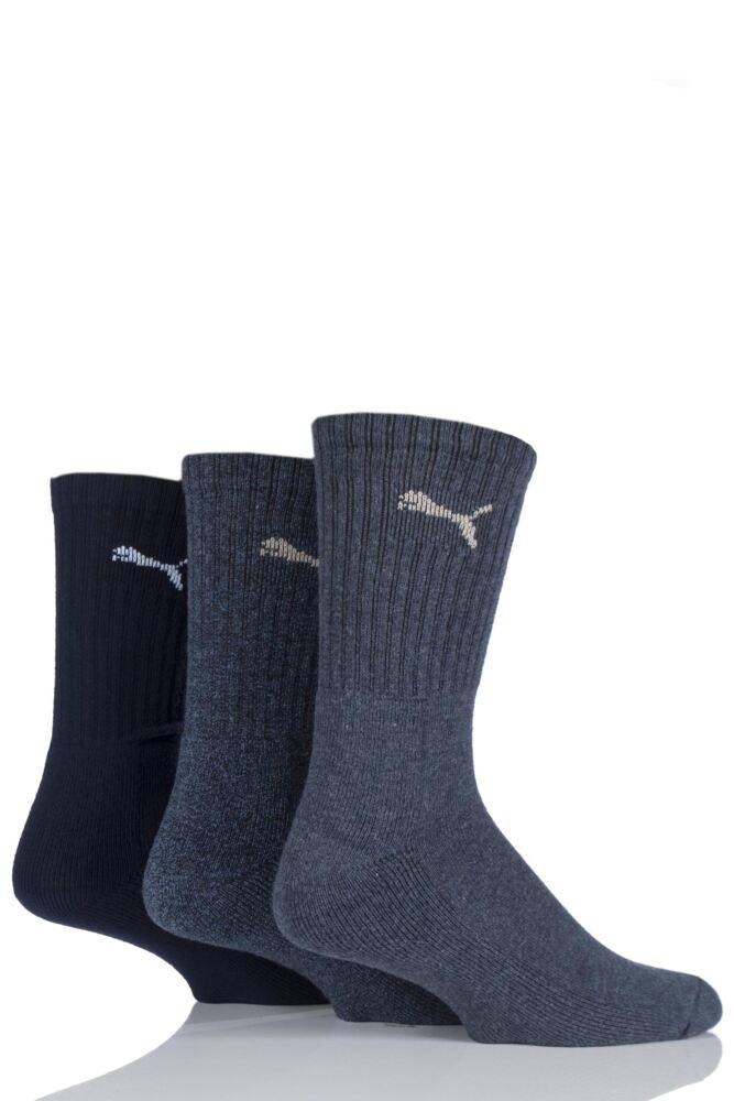 Mens and Ladies 3 Pair Puma Sports Socks