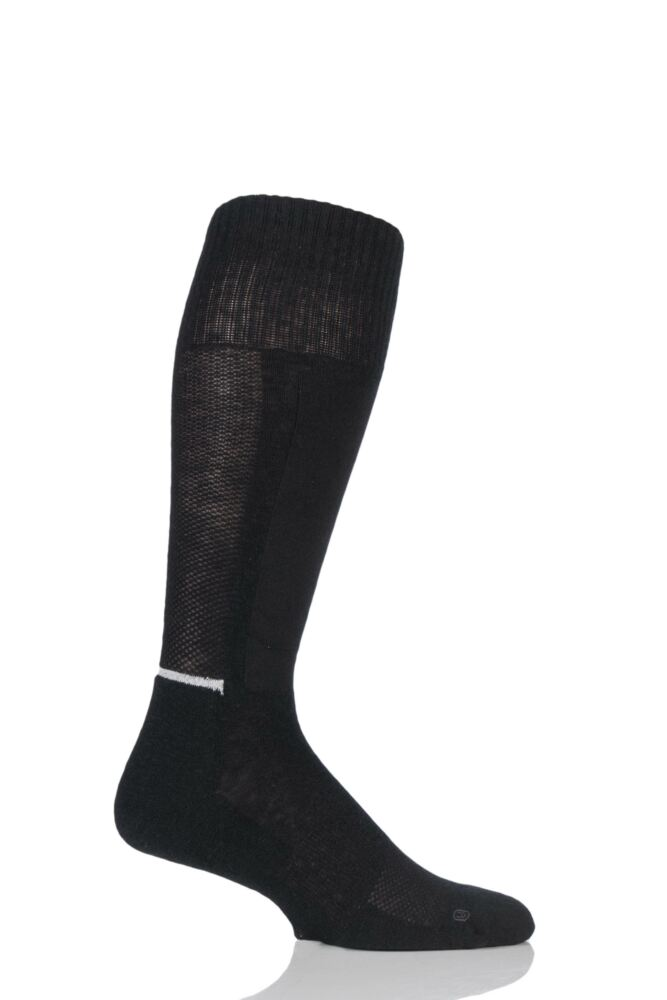 Mens 1 Pair Levis Commuter Vented Merino Wool Cushioned Socks with Arch Support