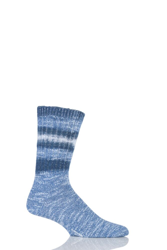 Mens 1 Pair Levis 084LS Individually Tie Dyed Cotton Socks