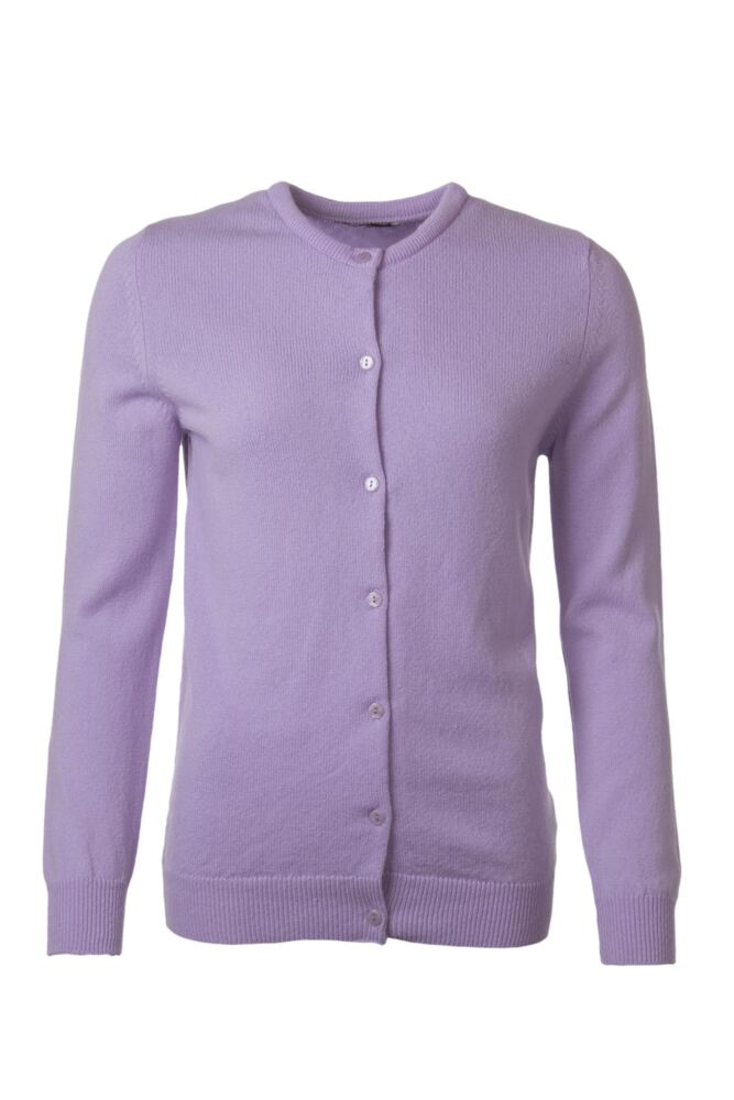 Ladies Great & British Knitwear 100% Lambswool Golfer Cardigan