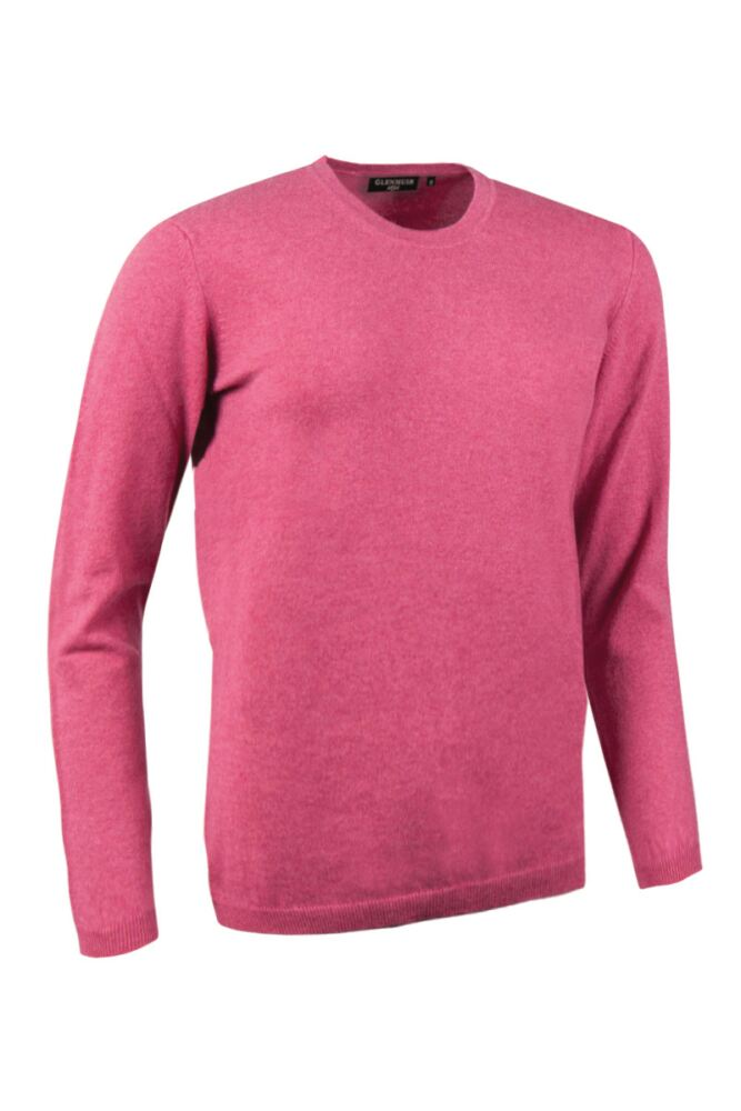 Ladies Great & British Knitwear Made In Scotland 100% Cashmere Round Neck Pinks and Purples