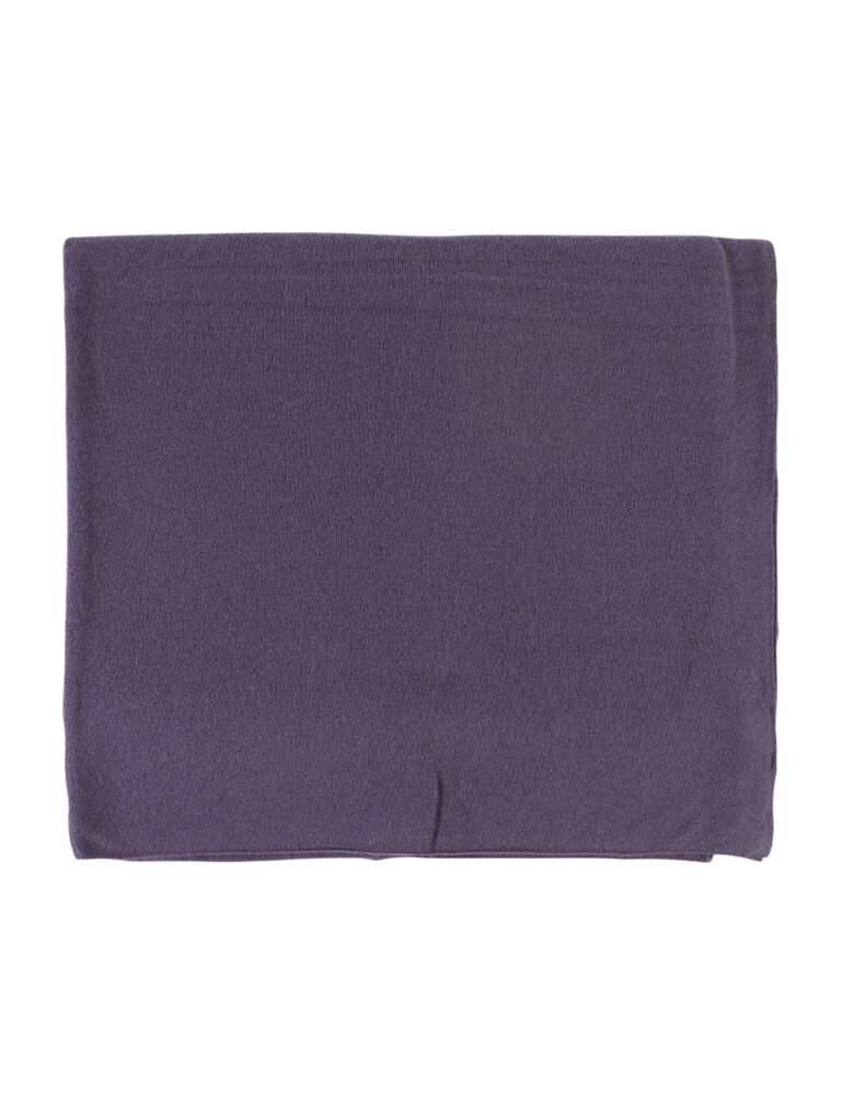 Ladies Great and British Knitwear 100% Cashmere Plain Fine Knit Wrap. Made In Scotland