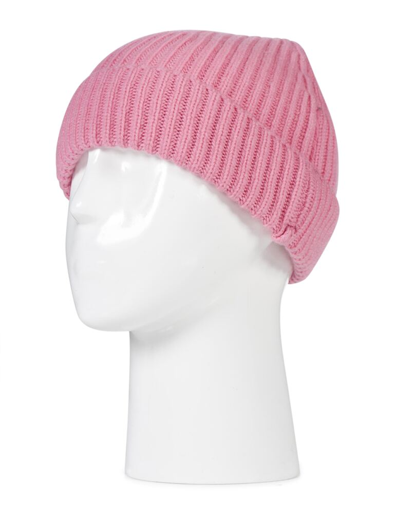 Ladies and Mens Great and British Knitwear 100% Cashmere Plain Beanie Hat. Made In Scotland
