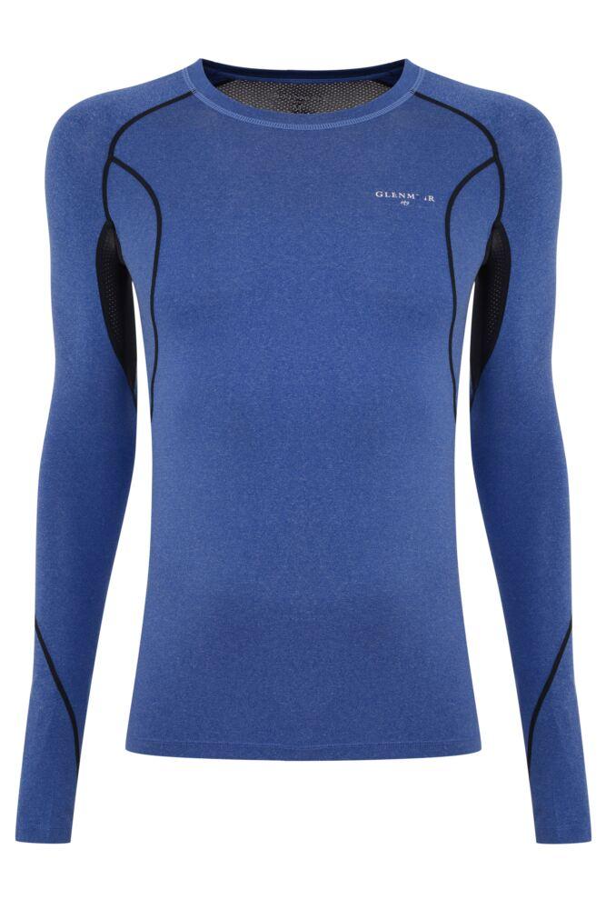Mens 1 Pack Glenmuir Long Sleeved Compression Base Layer T-Shirt