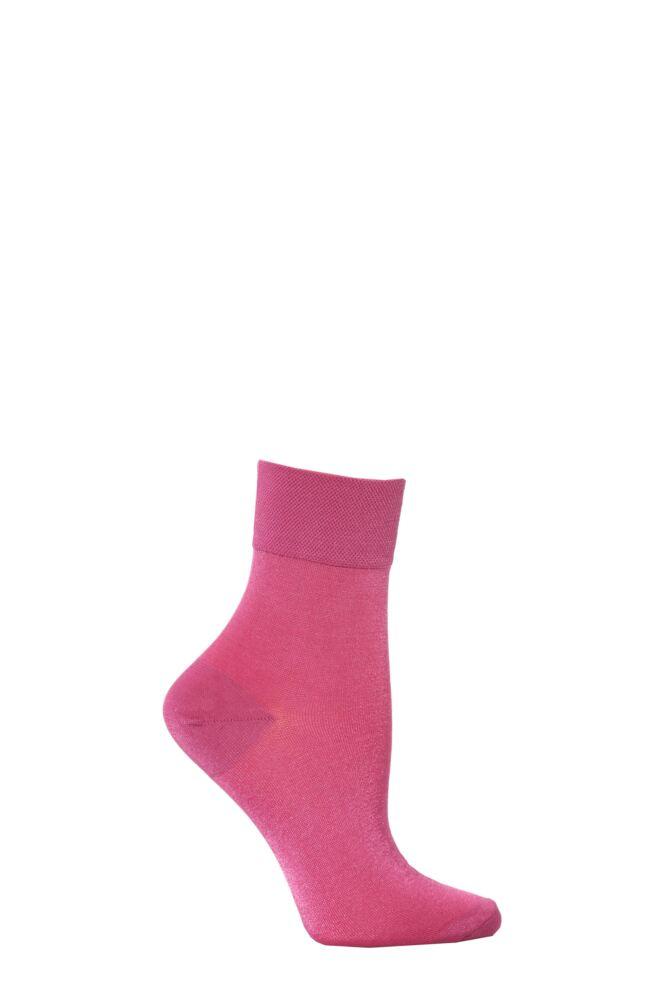 Ladies 1 Pair Jonathan Aston Plain Anklets 25% OFF