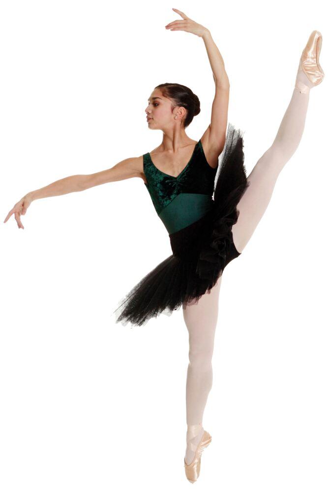 Girls 1 Pair Silky Ballet Foot Tights