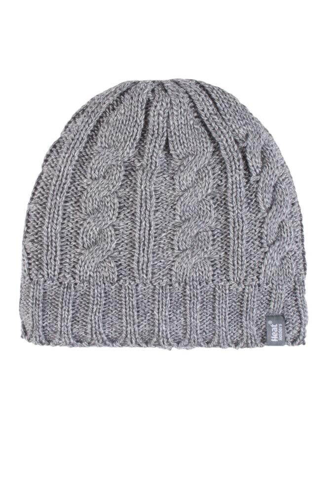 Ladies 1 Pack Heat Holders 3.4 Tog Heatweaver Yarn Hat