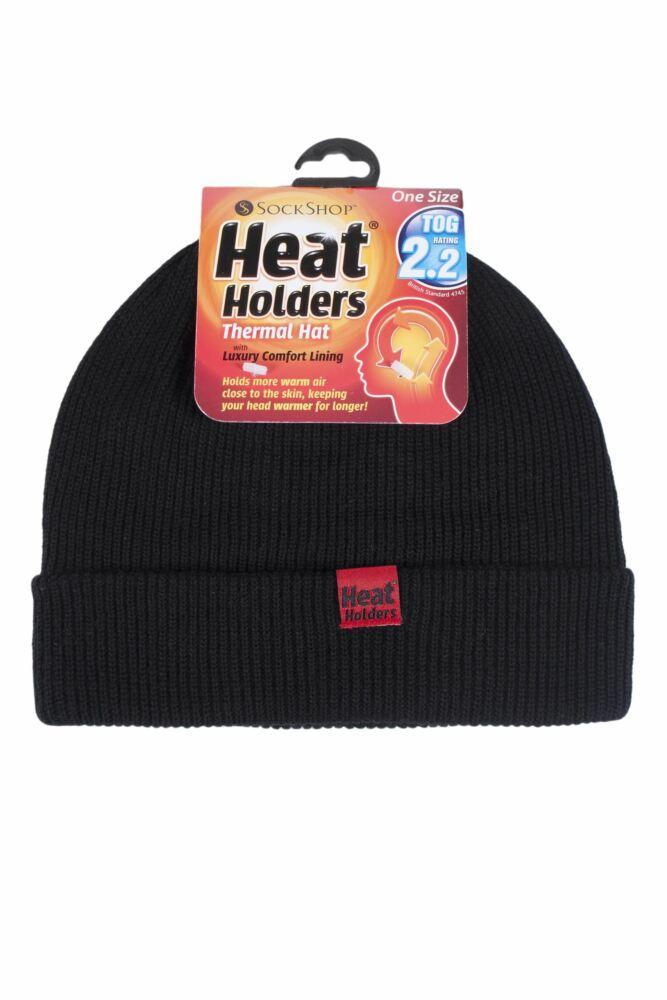 Mens SockShop Heat Holders Microluxe Hat
