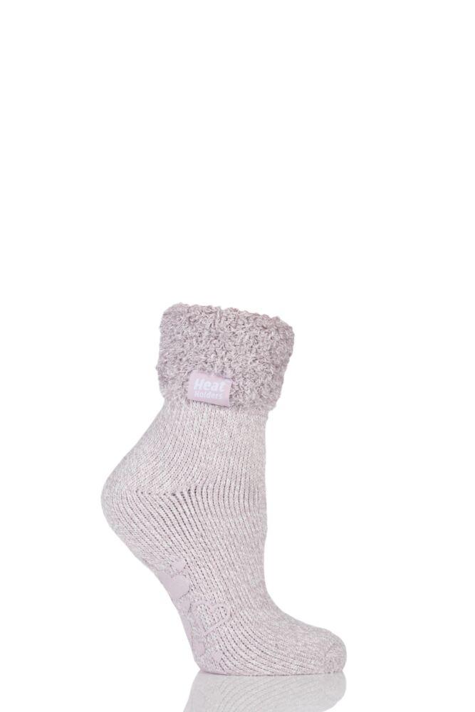 Ladies 1 Pair SockShop Heat Holders 2.3 TOG Thermal Lounge Socks