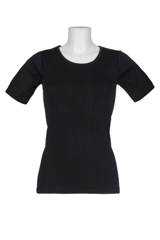 Ladies 1 Pack Heat Holders 0.45 Tog Short Sleeve Vest