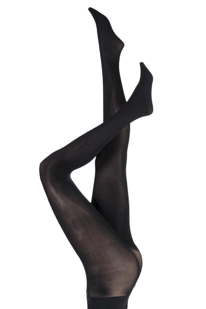Ladies 1 Pair Charnos 60 Denier Seamless Opaque Tights