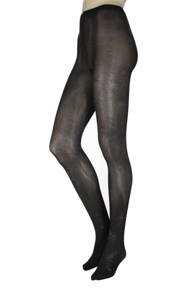 Ladies 1 Pair Charnos All Over Sparkle Tights