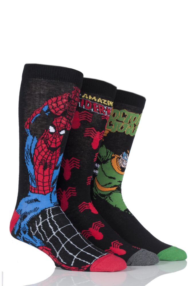 SockShop Marvel The Amazing Spider-Man and Doctor Octopus Cotton Socks