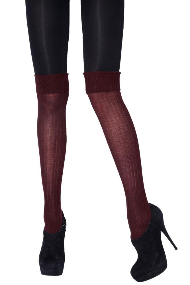 Ladies 1 Pair Jonathan Aston Polar Tights With Socks 75% OFF
