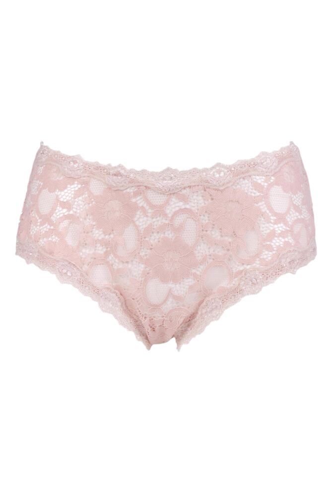 Ladies 1 Pair Kinky Knickers 'Outstanding In Oyster' Border Lace Classic Knicker