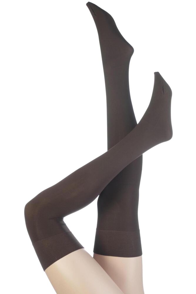 Ladies 1 Pair Trasparenze Caballero 70 Denier Over the Knee Socks