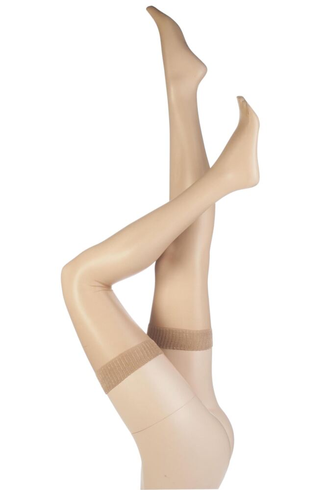 Ladies 1 Pair Aristoc 10 Denier Ultra Shine Stockings with Silk Finish