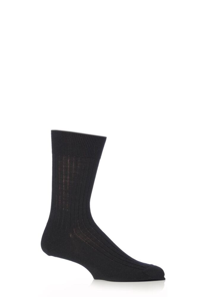 Mens 1 Pair Falke Bristol Pure Merino Wool Business Socks