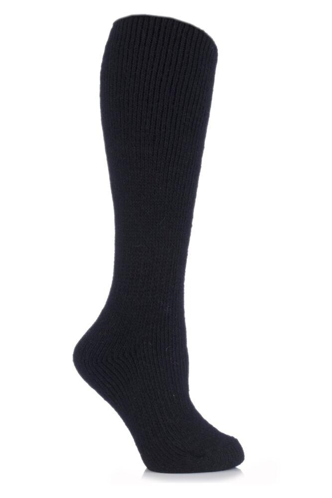 Ladies 1 Pair SockShop Heat Holders Wool Rich Long Thermal Socks