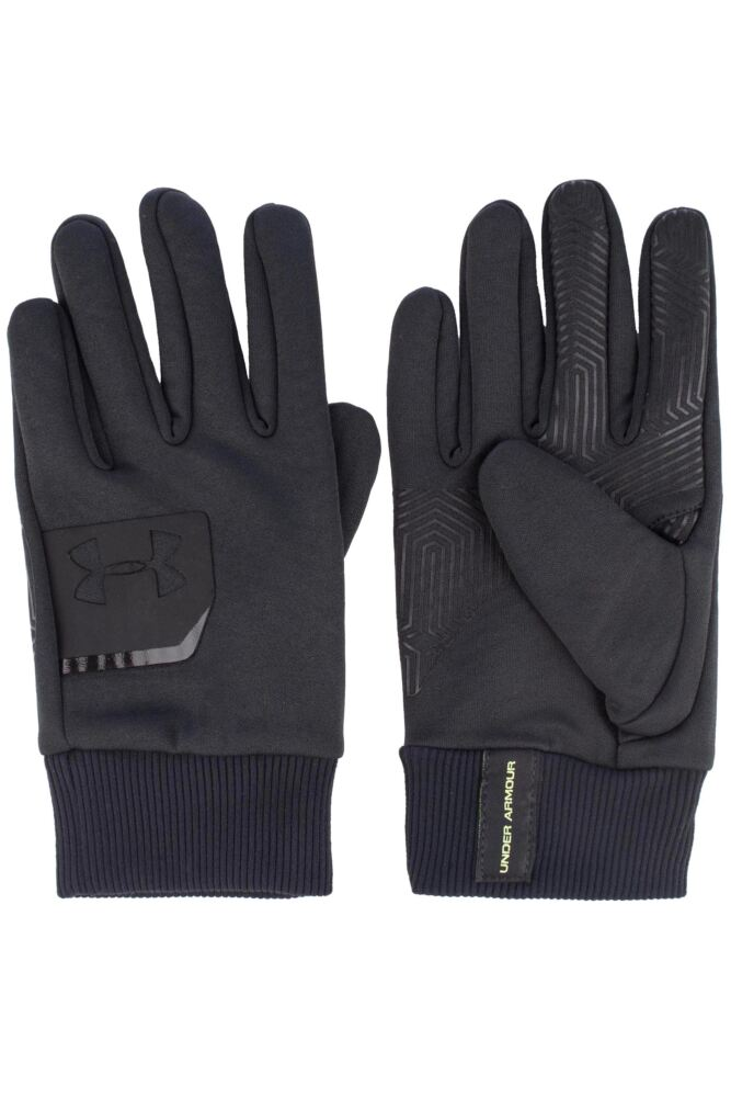 Mens 1 Pair Under Armour Cold Gear Infrared Core Glove with Tech Touch 75% OFF