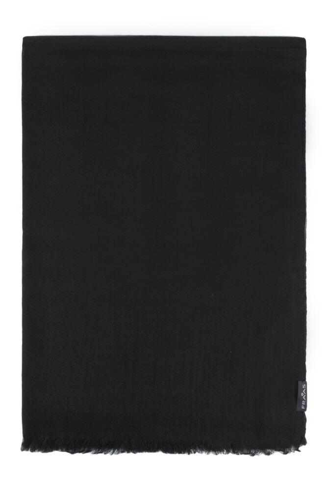 Ladies Fraas 100% Wool Plain 70 x 200cm Scarf