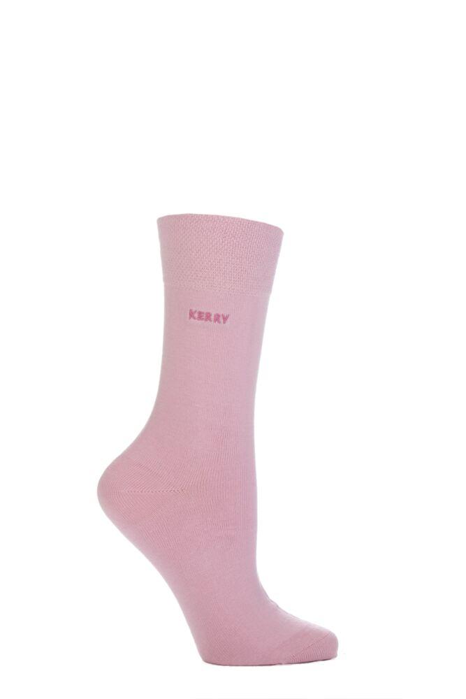 Ladies 1 Pair SockShop Individual Names Pink Embroidered Socks - 47 Names To Choose From