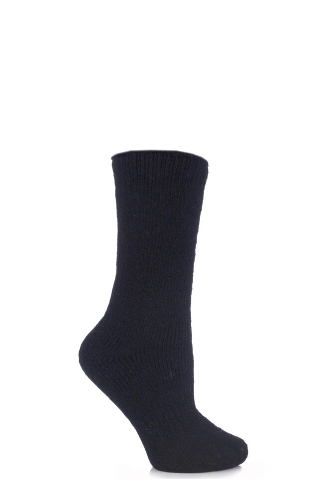Ladies 1 Pair SockShop Heat Holders Wool Rich Thermal Socks