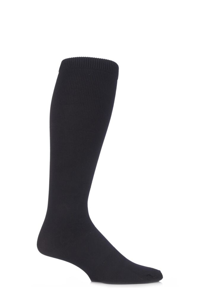 Mens 1 Pair SockShop 80 Denier Flight and Travel Socks