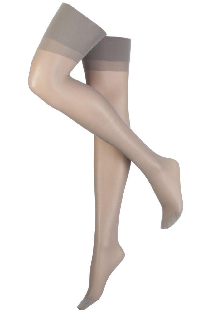 Ladies 1 Pair Elbeo Sheer Magic Medium Support Stockings