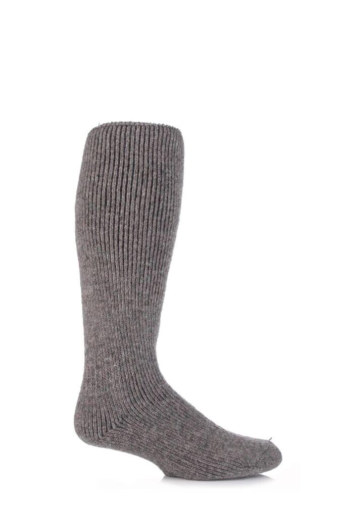 Mens 1 Pair SockShop Heat Holders Wool Rich Long Thermal Socks