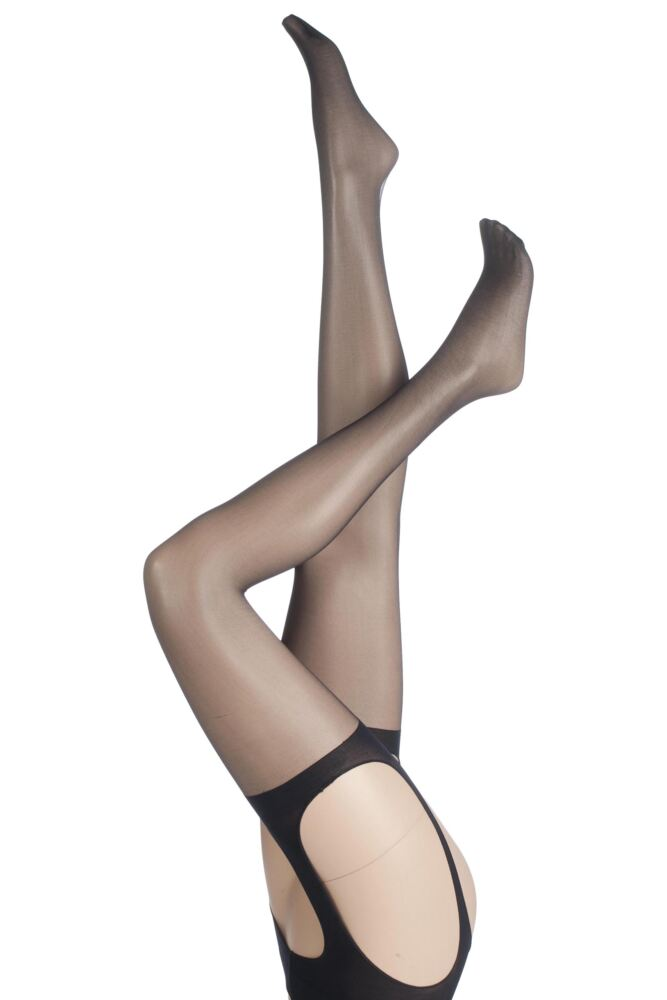Ladies 1 Pair Charnos 15 Denier Boudoir Bodyfree Tights