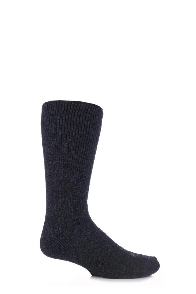 Mens 1 Pair SockShop Heat Holders Wool Rich Thermal Socks