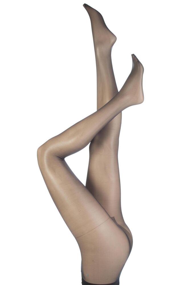 Ladies 1 Pair SockShop 10 Denier Classic Nylon Tights