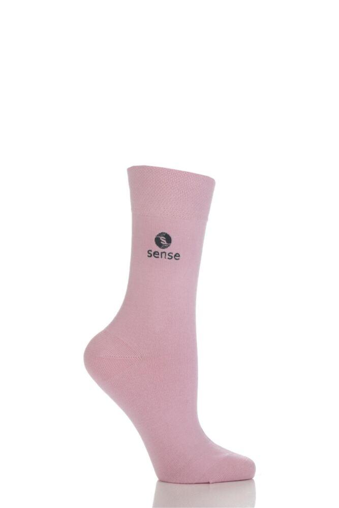 Ladies 1 Pair Sense Sock, Working With Deafblind People .. 25% Goes to Sense