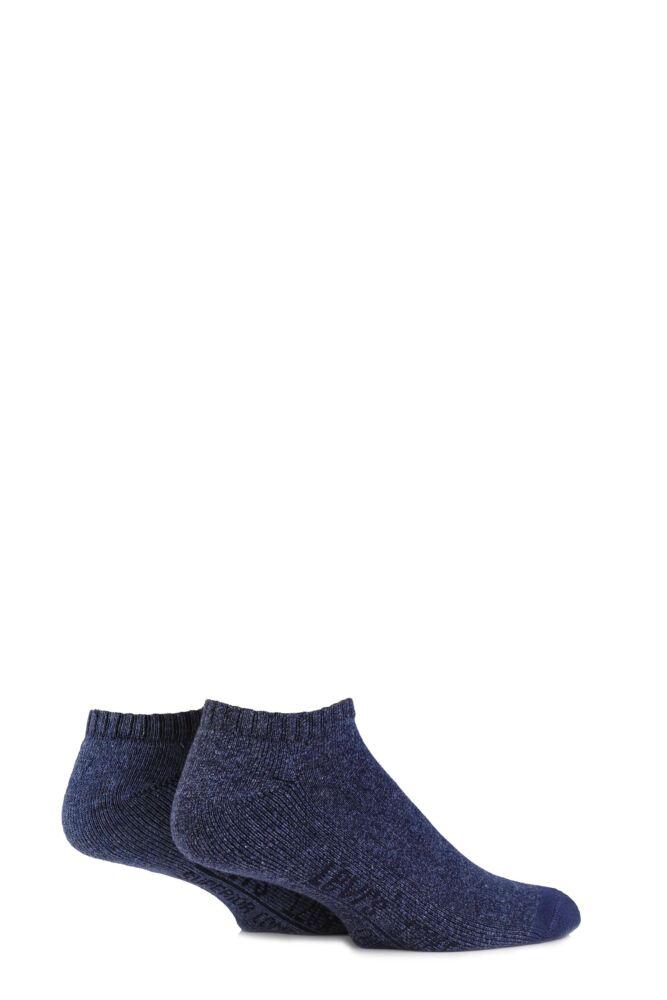 Mens 2 Pair Levis 120SF Plain Cushioned Low Cut Socks