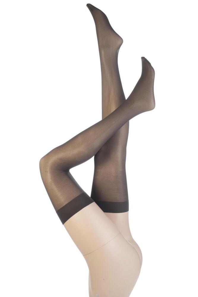 Ladies 1 Pair Elle Stockings 30 Denier 100% Nylon