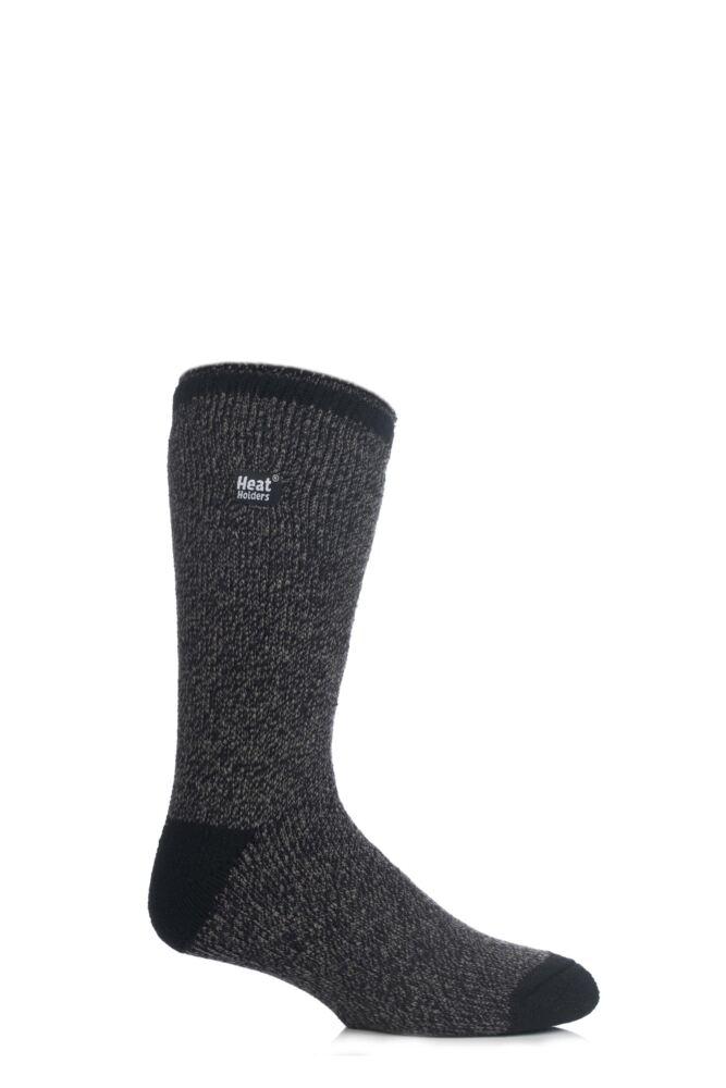 Mens 1 Pair Heat Holders 2.3 Tog Twisted Yarn Socks