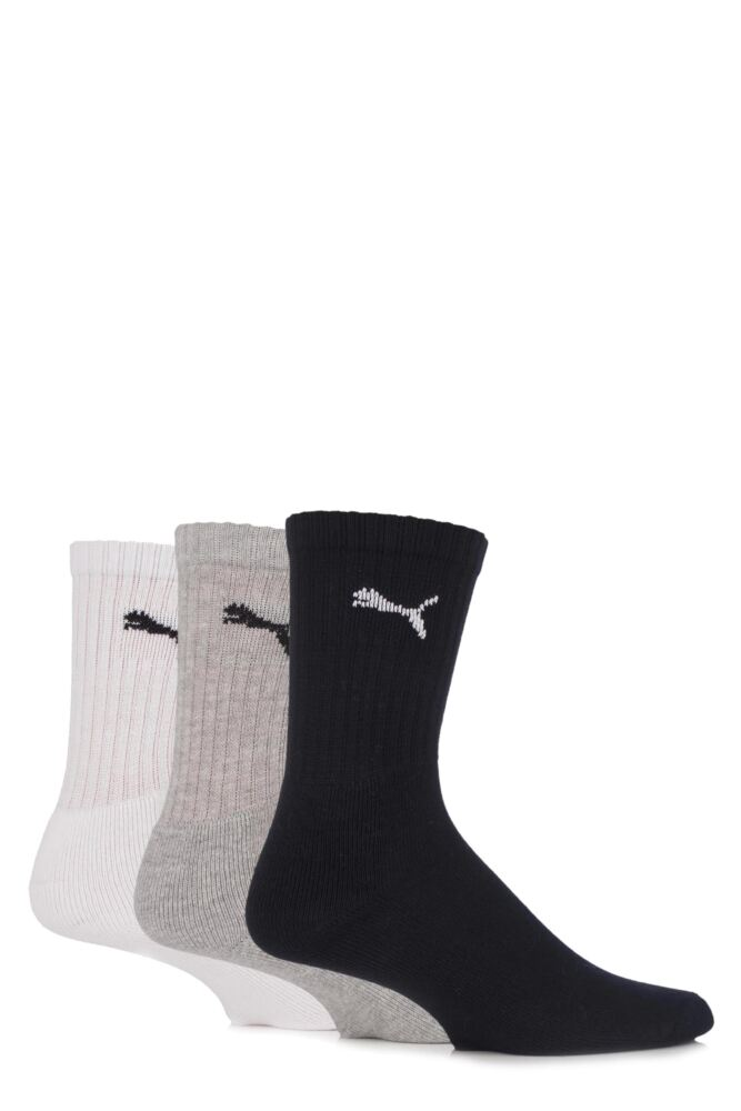 Mens and Ladies 3 Pair Puma Sports Socks