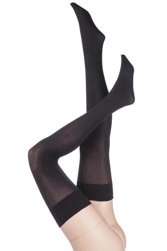 Ladies 1 Pair Aristoc 80 Denier Opaque Hold Ups