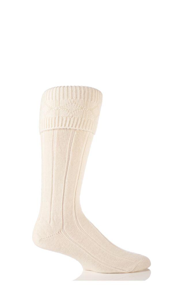Mens 1 Pair Glenmuir Wool Kilt Socks