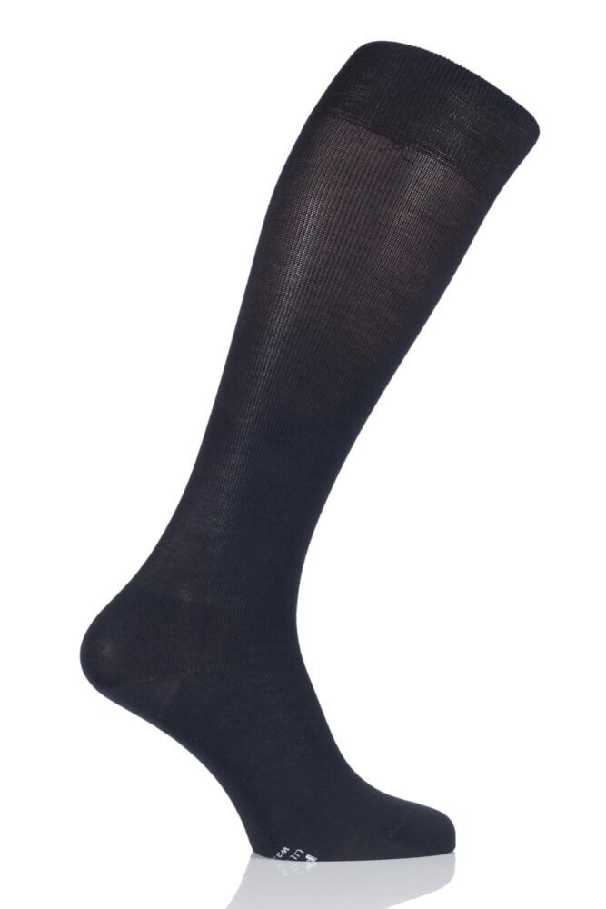 Mens 1 Pair Falke Ultra Energising Cotton Compression Socks