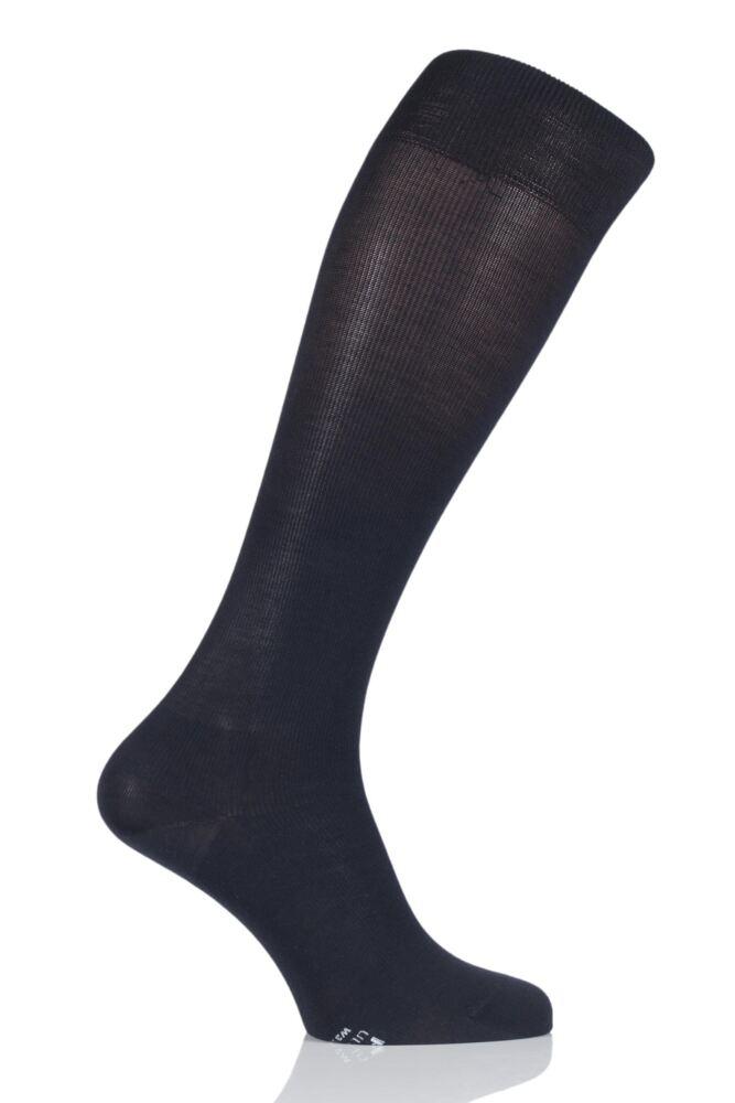 Mens 1 Pair Falke Ultra Energising Cotton Compression Socks