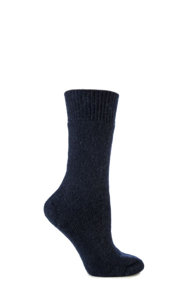 Mens and Ladies 1 Pair SockShop of London Mohair Boot Socks With Cushioning