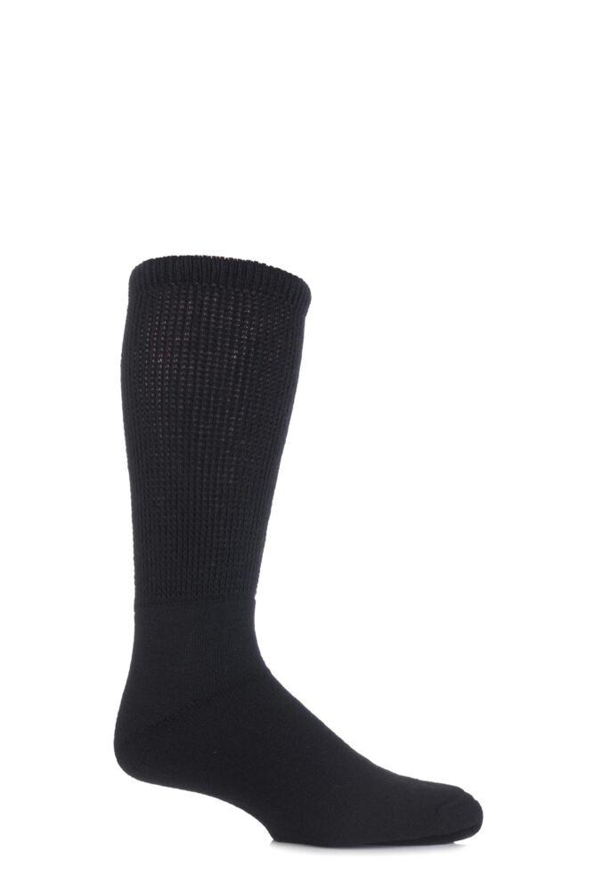Mens 1 Pair HJ Hall Wool Diabetic Socks