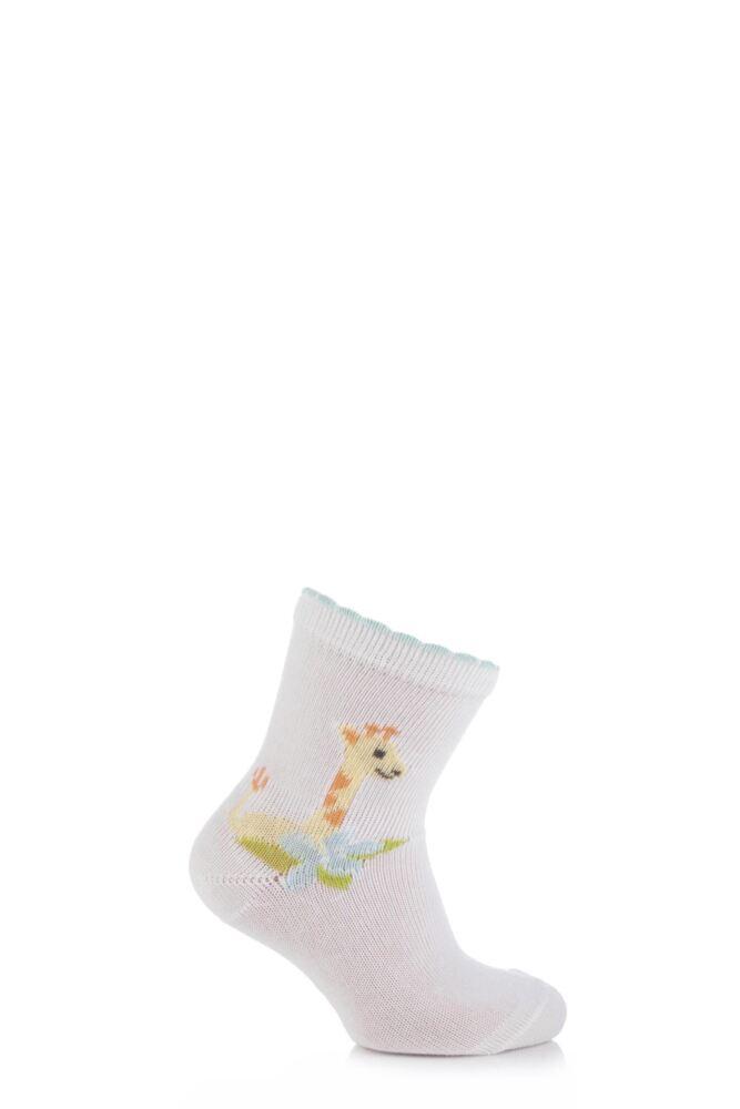 Babies 1 Pair Falke Cotton Giraffe Socks 25% OFF